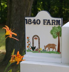 "1840 Farm Sign • <a style=""font-size:0.8em;"" href=""http://www.flickr.com/photos/54958436@N05/7779426570/"" target=""_blank"">View on Flickr</a>"