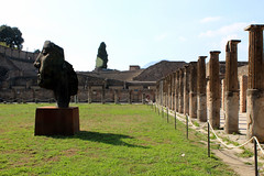 Modern art found in the ruins of Pompeii (KHM Travel Group) Tags: etw encompass world travel italy rome bill coyle pope leaning tower pisa singing angels