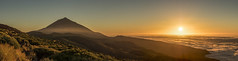 Sunset over the clouds! (GCMPhotography) Tags: volcan volcano teide tenerife espaa spain naturaleza nature landscape panorama gcmphotography sunset atardecer sol sun calima nubes clouds olympus