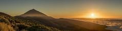 Sunset over the clouds! (GC - Photography) Tags: volcan volcano naturaleza nature landscape panorama sunset atardecer sol sun calima nubes clouds olympus gcphotography paisaje canaryislands teide tenerife españa spain
