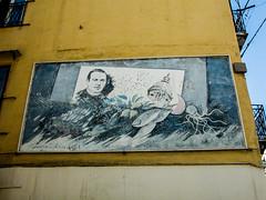 Murales a Palermo (Luciano ROMEO) Tags: palermo sicilia murales streetart arte muriimbrattati colori immagini pareti