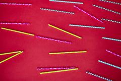 Variations of Coloured straws (planetnd) Tags: straws