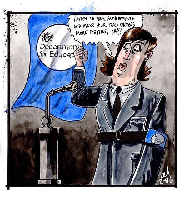 Nicky Morgan addresses teacher's union.