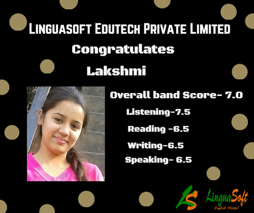 Lakshmi - IELTS Band Score 7