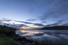 After the sunset, in Dunan (vlapoulle) Tags: ecosse scotland schotland skye coucherdesoleil bluehour heurebleue