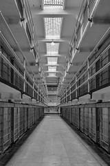 Inside the maximum high-security federal prison, The Alcatraz. (tehhanlin) Tags: california goldengatebridge hollywood sanfrancisco sausalito usa unitedstatesofamerica sony a7r2 a7rm2 variotessar16354za ngc alcatraz