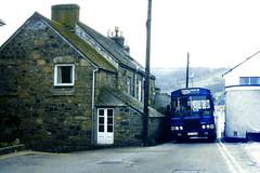 Slide 066-77 (Steve Guess) Tags: cornwall england gb uk bus harvey blue cream bristol lh lhs wadham stringer vanguard newlyn penzance
