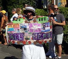 Carnival Parade, Provincetown MA (Boston Runner) Tags: carnival parade backtothe80s 2016 provincetown massachusetts ptown costume aidsquilt weareallhere