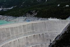 Diga di Cancano, Bormio, Italia (alexgiordano965) Tags: italia panorama aperto paesaggio lombardia montagna mountain alpi alpes laghi cancano sondrio bormio valtellina diga autobus a2a idroelettrica