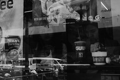 238/365 (Nico Francisco) Tags: street blackandwhite glass 711 365