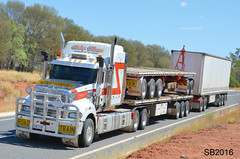 Ricky Blinco Mack Road Train (Bourney123) Tags: mack roadtrain qld queensland trucks trucking truck highway haulage brisbane darwin loaded diesel augathella morven