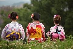 3 Girls in Kimono 1 (jl kim) Tags: kimono yukata japan fashion mode woman beauty