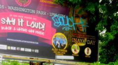 touch (timetomakethepasta) Tags: touch graffiti albany new york billboard black latino gay pride inaya day sampson dev11n alex torres his latina orchestra say it loud washington park photography outdoors