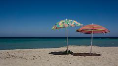 Summertime   [Explore 10-08-2016 ! ] (andbog) Tags: sony alpha ilce a6000 sonya6000 emount mirrorless csc sonya oss sel 1650mm selp1650 sony sonyalpha sony6000 sonyilce6000 sonyalpha6000 6000 ilce6000 italia italy puglia apulia salento blue blu sea mare summer estate seascape shoreline paesaggio landscape mediterranean mediterraneo ombrellone sunumbrella melendugno torrespecchiaruggeri le widescreen 169 16x9 water beach spiaggia explore inexplore explored over100fav
