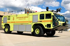Gary Fire Department Rescue 3 (nick123n) Tags: gary fire department rescue arff airport gyy indana surpressions truck rig station crash emergency urgent lime green