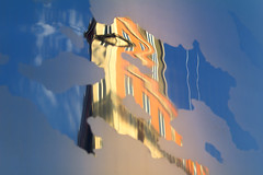 Reflections in the Spire of Dublin (Frank Fullard) Tags: frankfullard fullard street sculpture tall height record dublin spire spike monumentoflight reflection irish ireland antrsolais stainlesssteel arup
