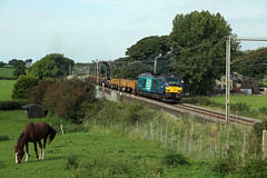 Horses & Cats (DieselDude321) Tags: 68003 class 68 drs direct rail services 6k05 1043 carlisle ny crewe basford hall ssm oubeck loop galgate lancaster lancashire cats horses