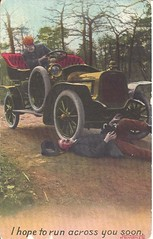 """""""I hope To Run Across You Soon"""" (ilgunmkr - Thanks for 4,000,000+ Views) Tags: postcard 1912 oregon rheabevier touringcar early1900s"""