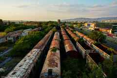 30 years dead (Kleanthis Mpantis) Tags: train thessaloniki greece abandoned scary   macedoniagreece makedonia timeless macedonian