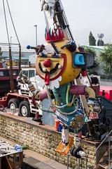 Boatyard, Wakefield (alh1) Tags: westyorkshire england places wakefield art barges boatyard crane