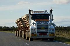 Mack Road Train (quarterdeck888) Tags: trucks transport roadtransport haulage lorry class8 tractortrailer overtheroad heavyhaulage australianroadtransport nikon d7100 semitrailer frosty quarterdeck flickr jerilderietrucks jerilderietruckphotos truckphotos australiantruckphotos expressfreight freight roadfreight truck mack roadtrain tippers tridolly sidetippers