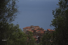 It's not the sky but the ocean in the background (heikecita) Tags: pisciotta cilento kampanien italien meer ocean landscape landschaft blick outdoor view