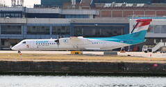 LX-LGG Bombardier DHC 8 -402NG Luxair (lee_klass) Tags: lxlgg bombardier bombardierdash8q400 dhc8 dehavillandcanadadhc8402qdash8 dhc8402 dh8d dash8q400 luxair lgl lg lg4594 regionalairliner propliner prop turboprop twinturboprop airliner canon canonaviation canonef75300mmf456 canoneos750d aviation aviationphotography aviationspotter aviationenthusiast plane planespotting aircraftphotography aircraft aircraftspotting londoncityairport eglc lcy london docklands cityairport england unitedkingdom luxembourg luxembourgfindelairport lux ellx transport travel airtransport airtravel vehicle