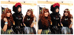 Gothic&Lolita Festival ( Moscow ) (VioletSpider) Tags: latex fashion gothiclolita lolita gothic rubber dress