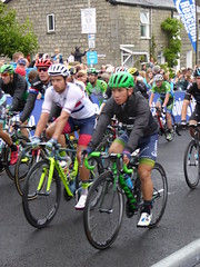 In comes the peloton, nearly quarter of an hour down (Steelywwfc) Tags: 2016 tour britain kendal caleb ewan orica bikeexchange adam blythe great ramon sinkeldam team giant alpecin javier aramendia caja rural seguros rga nicola ruffoni bardiani csf damien shaw an post chain reaction