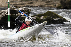 _7D27794 (Simon Wootton) Tags: sport kayaking grantully water slalom splash speed perth river rivertay scotland