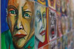sguardi (mbeo) Tags: snozzi mbeo visi facce dipinto colori sguardo parete faces painted wall colors eyes