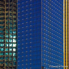 Minneapolis Skyscrapers at Sunset (David M Strom -- On and Off) Tags: lines skyscraper olympusomdem5 shapes minneapolis reflections architecture davidstrom sunset minimal abstract