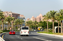 The Pearl-Qatar (jbdodane) Tags: thepearl thepearlqatar doha ferrari middleeast qatar roads traffic
