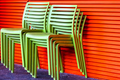 BRYAN_20160630_IMG_8523 (stephenbryan825) Tags: albertdock liverpool abstracts cafe chairs contrast graphic green lines minimalist orange purple selects