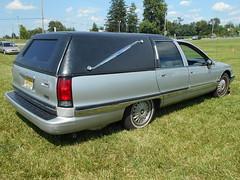 1994 Buick Roadmaster Hearse (splattergraphics) Tags: 1994 buick roadmaster hearse carshow professionalcarsociety gettysburgwyndhamhotel gettysburgpa