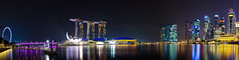 Singapore Marina Bay Panorama (Jeffery Goh) Tags: panorama singapore cityscape marinabay