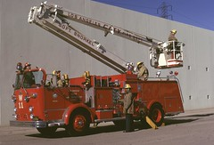 LAFD Wagon 11 Snorkel    November 1973