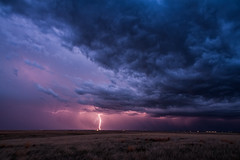 Energized Turbulence (Fort Photo) Tags: storm nature weather night clouds evening nikon colorado weld stormy bolt co strike thunderstorm bluehour lightning plains grassland cloudscape neco pawnee stormscape d700 2012a