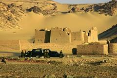 Anba hadra Exterior (howiemj) Tags: west st egypt bank monastery aswan simeon coptic hadra anba