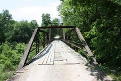 Powell Bridge (dbro1206) Tags: old bridge canon rust iron country rusty historic ironbridge missouri weathered onelanebridge truss woodenrunners 3tonweightlimit
