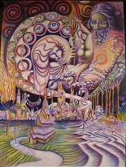 Awaken_38x40_c2010sm (LouisBraquet) Tags: original art pen ink sketch drawing originalart surrealism dream surreal fantasy surrealist dreamlike mythology unconscious penandink jungian freudian hallucinogenic psychoanalysis fantasticrealism subconscious psychoanalytical mythologicalart modernsurrealism modernsurrealist unconsciousimagery