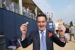 John Parker the winner at Epsom Derby Day races (Connect Express) Tags: uk england jubilee surrey queen derby epsom investec diamondjubilee epsomderby investecderby connectexpress