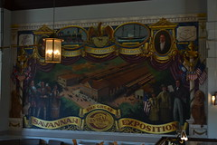 Savannah Exposition mural