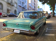 Green Ford (Steven Hight) Tags: sanfrancisco fordfalcon 2012stevenhight nikkor85f18ai