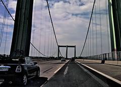 Cruisen (Steinschlag) Tags: brcke kln cologne rheinbrcke hngebrcke rodenkirchenerbrcke a4 bundesautobahn4 nordrheinwestfalen northrhinewestphalia nrw