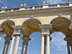The Gloriette at Schonbrunn Palace, Vienna. (h0n3yb33z) Tags: vienna gardens austria palace schloss schonbrunn gloriette chantelpederson