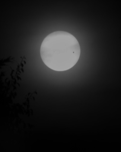 Transit of Venus, in infrared