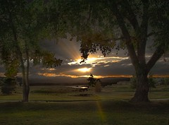 More power, Scotty... (Rocky Pix) Tags: county sunset foothills mountain rockies colorado pix longmont tripod rocky boulder f16 55mm agriculture nikkor pastoral hygiene highway66 mcintoshlake rockypix normalzoom 1400thsec wmichelkiteley 2470mmf28f28g mcintoshlohragriculturalmuseum