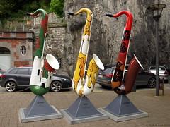 L'Europe  Sax - Dinant (Rick & Bart) Tags: europe belgique belgi malta exhibition slovenia instrument czechrepublic sax saxophone dinant saksofon saxofoon adolphesax rickbart rickvink
