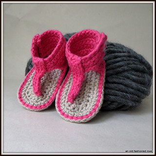 Ravelry: Gladiator Sandal Booties for Baby pattern by ...